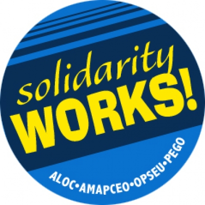 Solidarity Works Sticker