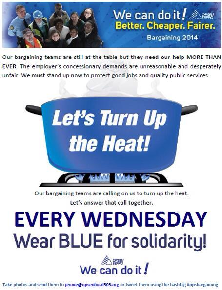Wear Blue Every Wednesday