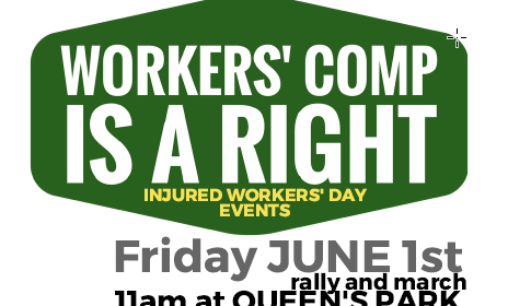 Injured Workers' Day Poster